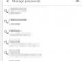 Uložená hesla v prohlížeči Microsoft edge