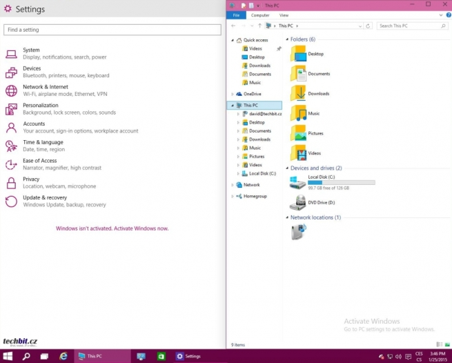 Windows 10 TP