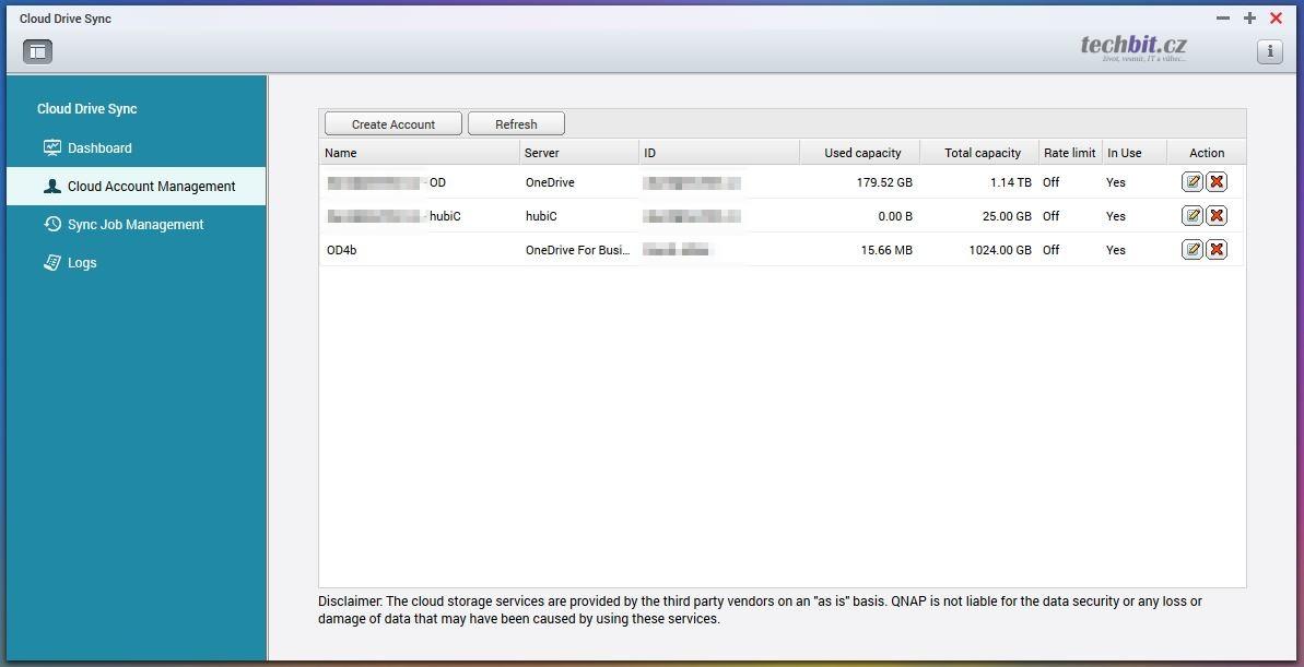 QNAP: synchronizace s cloudovým úložištěm – Cloud Drive Sync