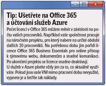 Office 365 a AZURE